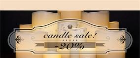 Εικόνα για τον κατασκευαστή Candle Sale!